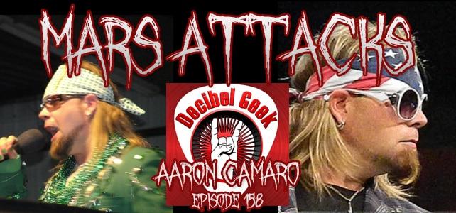 Podcast Episode 158 – Aaron Camaro Of Decibel Geek Podcast