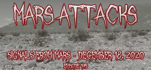 Signals From Mars December 18, 2020