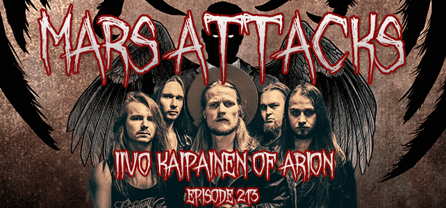 Iivo Kaipainen Arion Mars Attacks Podcast,