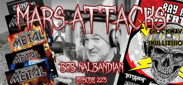 Bob Nalbandian Mars Attacks Podcast