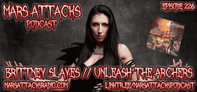 Brittney Slayes Unleash The Archers Mars Attacks Podcast