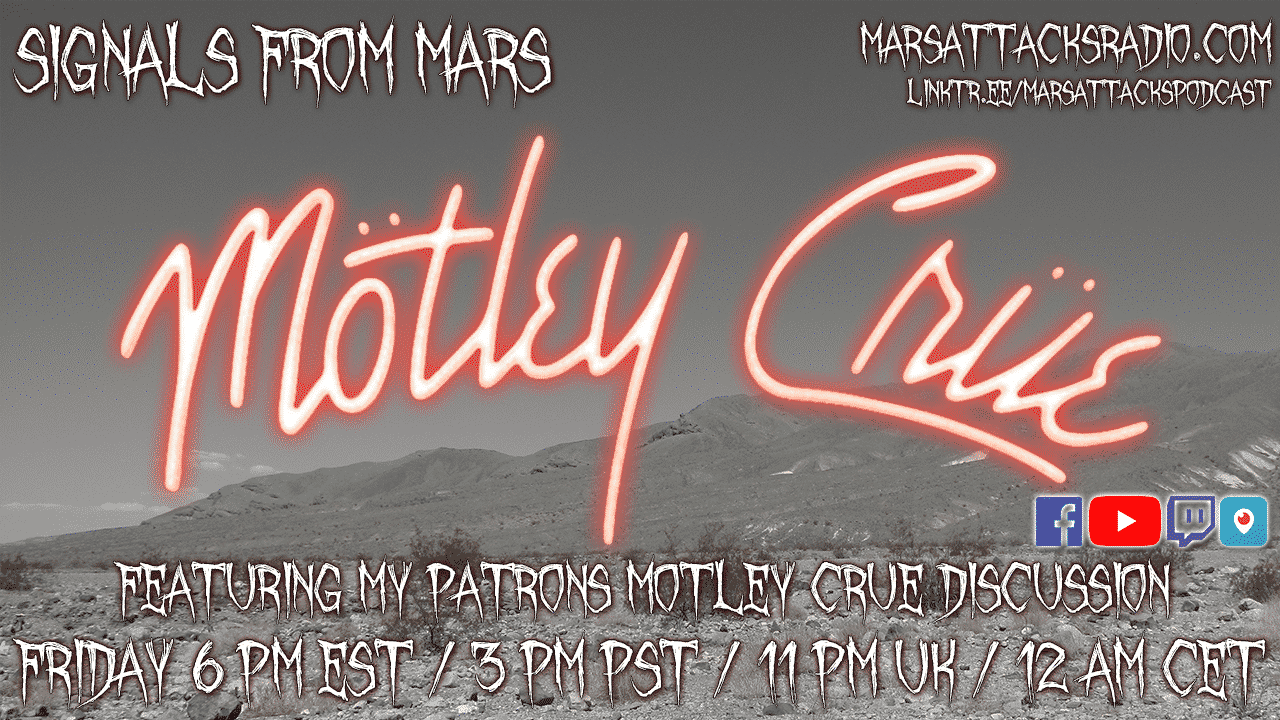 Motley Crue Signals From Mars